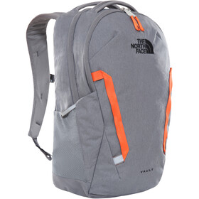 The North Face Vault Mochila, zinc grey dark heather/persian orange